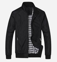 New 2020 Casual Jacket M-5XL 6XL 7XL Men Spring Autumn Outerwear Mandarin Collar Clothing jacket Casacos de homem