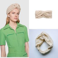 Top quality Designer Lace Headband hair Scarf for Women New ...