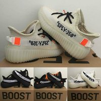 Off Shoes West SPLY 350 Running Shoes Kids Kanye Boost V2 Ch...