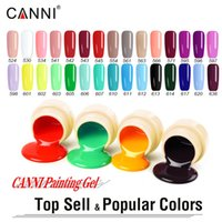 # 50618 CANNI más popular 30 colores pintura Gel Top Color de uñas gel UVLED esmalte de uñas laca