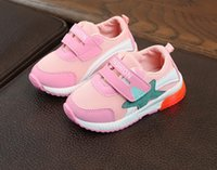 2018 spring children' s sports shoes, fashion girls, sho...