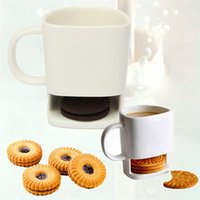 Ceramic Biscuit Cups 8oz Creative Coffee Milk Dessert Cup Te...