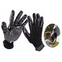Dog Grooming Gloves For Cats Dogs Horse Gentle Brush Five Fi...