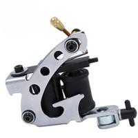 10 Wrap Bobinleri Kalıcı Dövme Makinesi Shader Liner Karbon Çelik Döner Karışık Dövme Motor Gun Araçları Ücretsiz Kargo
