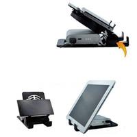 2 in 1 Portatile Pieghevole Telefono cellulare Notebook Laptop Cooler USB Raffreddamento Pad Tablet PC Stand Supporto Staffa Dock Ventol Radiatore