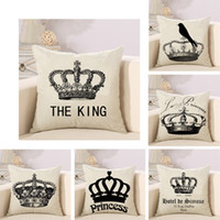 1pc crown pillowcase 45 * 45cm