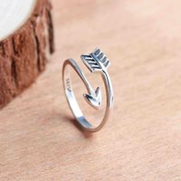 hot arrow design genuine 925 sterling silver plain ring hit ...