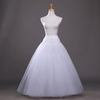 Organze Tül Balo Gelin Petticoat 2018 4 Katmanlar Düğün Petticoat Yeni Dans Elbisesi