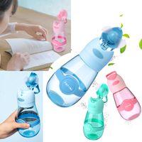 Creative-Fan Cup-Wasserflasche im Freien beweglichen Sport Cup-Reise-Becher Summer Cool Faner Cups USB Charge Studenten Becher WX9-604