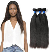 Beauty On Line Hair 8A Virgin Peruvian Straight Human Hair 3...