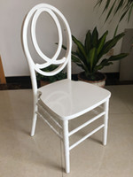 wooden cheaped stackable white phoenix chair for rental/events