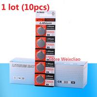 10pcs CR2025 3V 리튬 이온 버튼 셀 배터리 CR 2025 3 볼트 리튬 이온 배터리 시계 무료 배송
