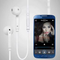Auricolare In-Ear Auricolare Vivavoce con microfono Controllo volume 3.5mm per S7 S8 S6 Bordo Nota 4 Bordo con LOGO