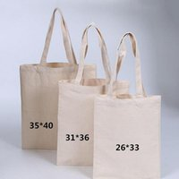 Blank pattern Canvas Shopping Bags Eco Reusable Foldable Sho...