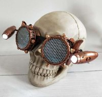 Steampunk Style Goggles Men with Metal Screw Gothic Eye wear...