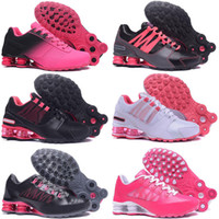 2019 New Women Avenue Sports Running Shoes Black Red Cushion...