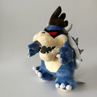 "Hot Sale 11"" 28cm Dark Bowser Koopa Super Mario Bros Pl..."
