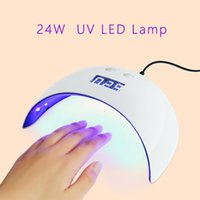 Nail Lamp 24 W UV LED Light Gel Polish Dryer with USB Chargi...