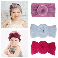 Baby Headbands for Newborn Photography Props Nylon Knotted H...