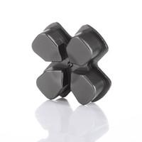 Botón de la manija para el controlador PS4 Aleación de aluminio D-pad metálico para el controlador PS4 8 colores de alta calidad NI5L