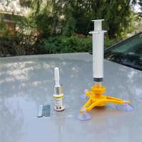 Fai da te parabrezza kit di riparazione auto parabrezza di attrezzi di riparazione della finestra di lucidatura Kit Moto Accessori auto