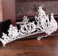 Brides crown wedding hoop crown ornament alloy diamond crown