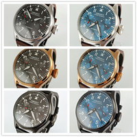 42mm Corgeut Black Blue Dial Silver Bronze Black Steel Case ...