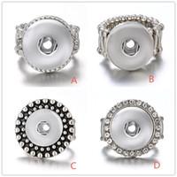 Noosa Chunk Druckknopf Elastisches Seil Verstellbarer Ring DIY Ginger Snaps Button Austauschbare Schmuck Für Frauen