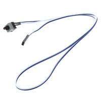 "Freeshipping 200pcs / lot 20.5 ""Lange Power Button Switch-kabel voor pc-schakelaars Reset Computer"