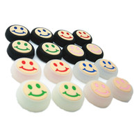 Syytech Honbay Smile Face Pother Package حزمة Thumbstick Cap Janstick Sets Cover Case for PS4 Xbox ONE / 360 PS3 Controller