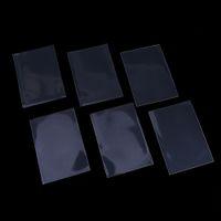 50 unids / set color transparente 66 * 91 mm fundas para tarjetas titular de protector de tarjeta para mtg yugioh tarjetas juego de mesa