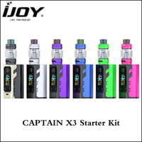 Authentic Ijoy Captain X3 Starter Kit 324W E Cig Vape Kit wi...