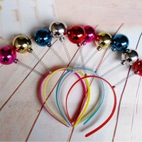 Christmas Crazy Martian Antenna Headband Boppers|Funny Party...