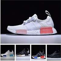 2018 Wholesale Brand Cheap Pink Red Gray NMD Runner R1 Prime...