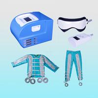 24 давление воздуха pressotherapy машина pressotherapy для похудения костюм тела детокс тела wrps дальней инфракрасной ems стимуляции мышц