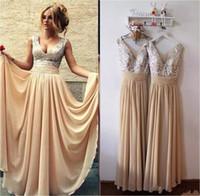 Burgundia Czarne Różowe Szampana Cekiny Druhna Suknie Długie Tanie V Neck Linia Suknie Wieczorowe 2019 Arabskie Prom Suknie poniżej 100