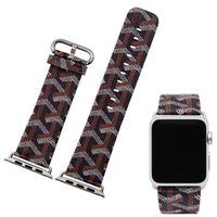 1 PCS Assista banda para apple Watch strap strap pintura pintura Anti-cobra padrão 38mm 42mm