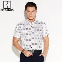 f04d65bd65 Nova verão 2017 dos homens contraste xadrez polo de manga curta camisas  casuais de algodão de alta qualidade moda masculina dress camisas m494