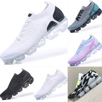 2018 Fly Knit 2. 0 VaporMax Breathable Cushioning Hiking Shoe...