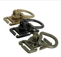Тактический Гримлок вращение D-образное кольцо клипы пряжка MOLLE лямки вложение рюкзаки блокировка карабина EDC инструмент