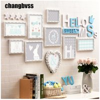 Sweet Theme Wooden Wall Hanging Photo Frames Picture Frames ...