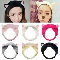6pcs lot Cute Fashion Women Girls Cartoon Cat Ears Soft Cott...