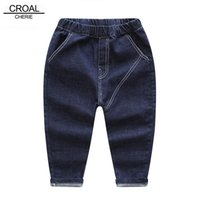 CROAL CHERIE 80- 130cm Fashion Jeans For Children Boys Blue B...