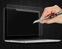 Protector de pantalla de cine de vidrio templado para MacBook Pro 12 13.3 AIR 11.6 A1278 A1706 A1708 A1534 A1369 A1466 A1370 A1465 50pcs NO RE