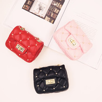 Kids Handbag Baby Girls Purese Pu Leather Plaid Rivets Bags ...