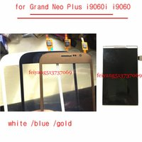 Samsung Galaxy Büyük Duos için dokunmatik ekrana sahip bir kalite% 100 test LCD Ekran Neo artı i9060i i9060 LCD dokunmatik Ekran i9062