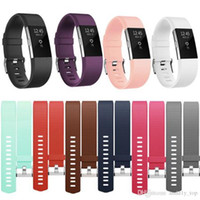 For Fitbit Charge 2 Silicone Replacement Band Colorful Soft ...