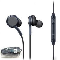 Наушники S8 Гарнитура для Samsung Galaxy S8 Plus 3,5 мм наушники Оригинальные черные наушники-вкладыши EO-IG955BSEGWW Power Bass Наушники громкой связи