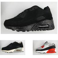 the latest bc296 854dc Nike air max 90 Nuevos niños 90 Zapatillas deportivas atléticas para  caminar para niños niñas Moda