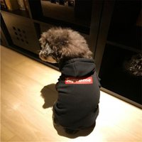 Brand Dog Hooded Hoodies Teddy Puppy Apparel Autumn Warm Fle...